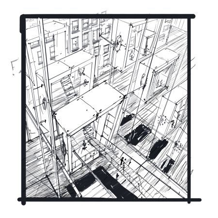 Architecture Drawing Tutorial 46 best perspective drawings images on pinterest | perspective