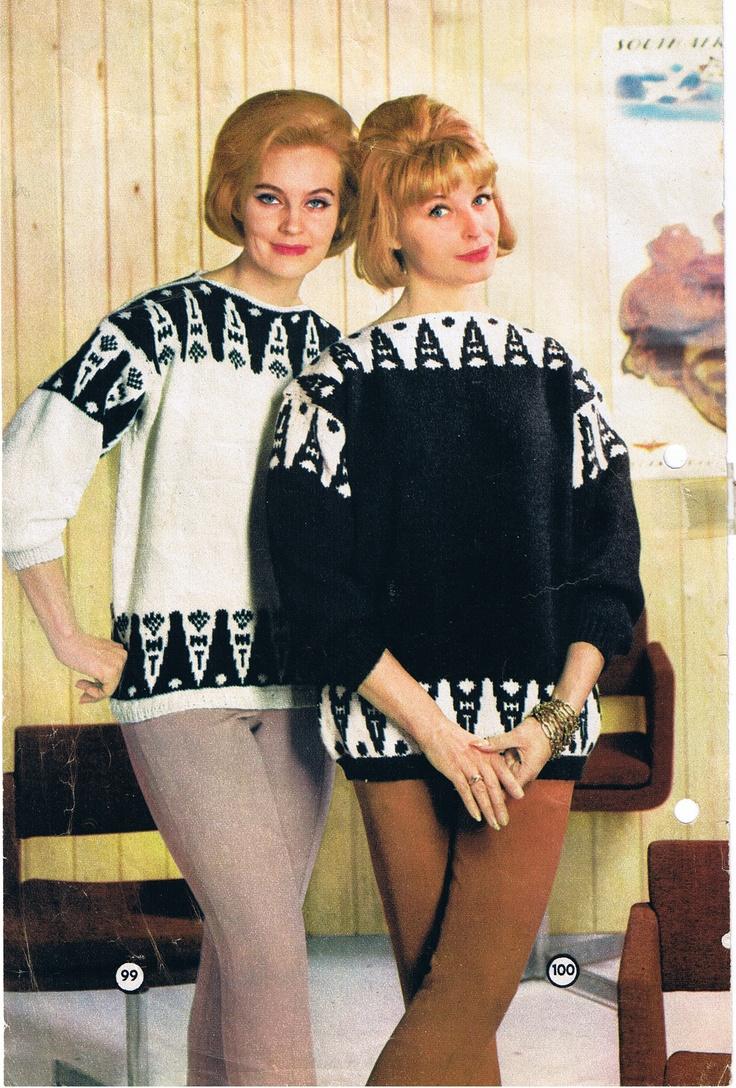 Tofarget genser