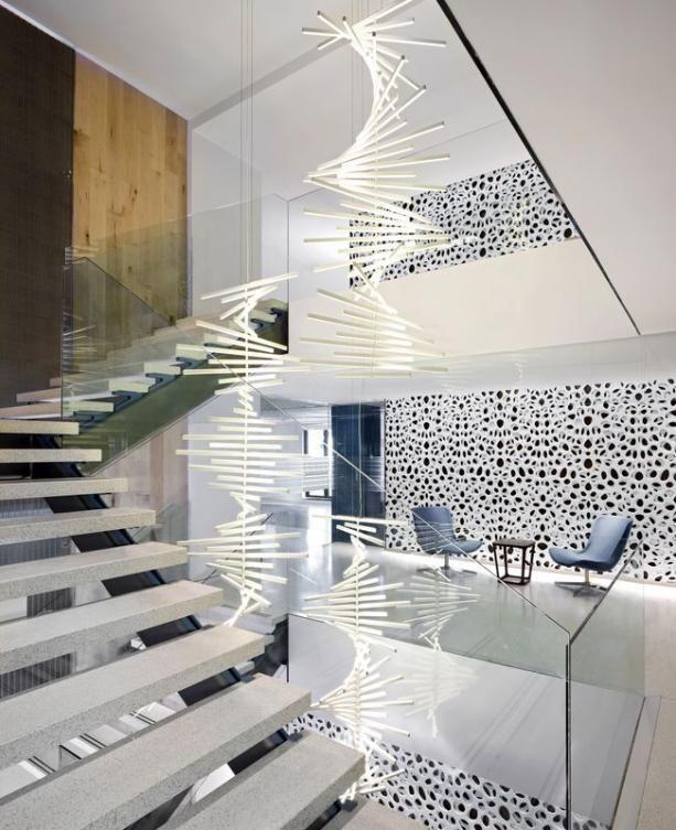 Projekt koncepcyjny wnętrz domu Nowoczesna lampa wisząca do kuchni