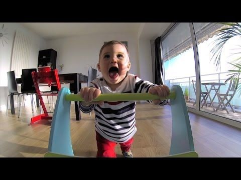 GoPro: Baby Walker with multi angle shots....great idea!!