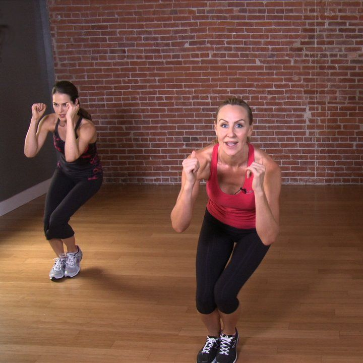 This fat-blasting workout video, created for POPSUGAR Fitness by Andrea Orbeck, will work your entire body in 10 minutes. Andrea has trained many Victoria's Secret models — who will film the annual fashion show today — and now she'll train