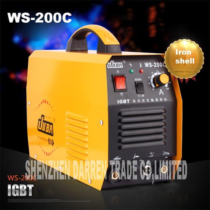 184.07$  Buy now - http://ali1o9.worldwells.pw/go.php?t=32783103187 - new portable WS-200C IGBT inverter TIG welder argon welder welding argon arc welding machine soldering iron
