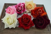1 unids flores artificiales rosas de la boda Floral franela coche de la boda decoración sala de bodas establece flores flores secas(China (Mainland))