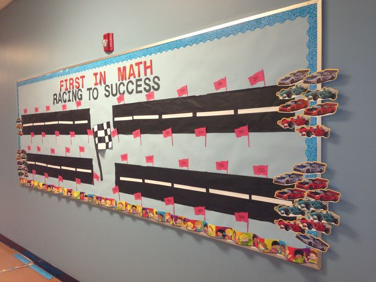 First in math bulletin board. | School | Pinterest | Math Bulletin ...