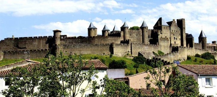 Carcassonne, fortaleza medieval no sul da França