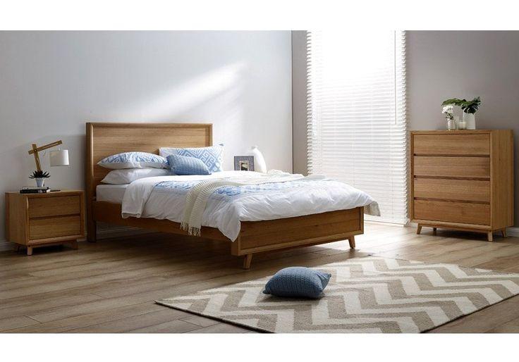 Springwood Tas Oak Bed Frame with Suite Options