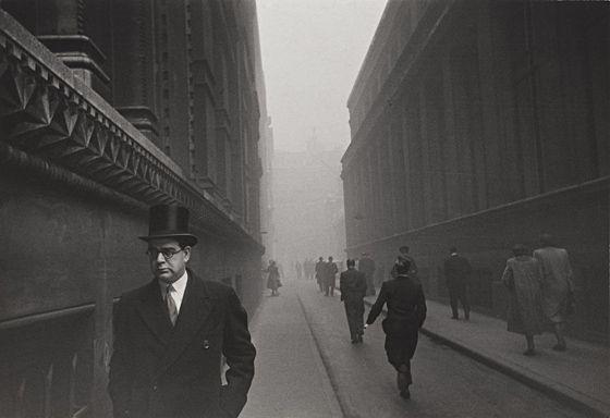 "Robert Frank ""City of London"". 1951"