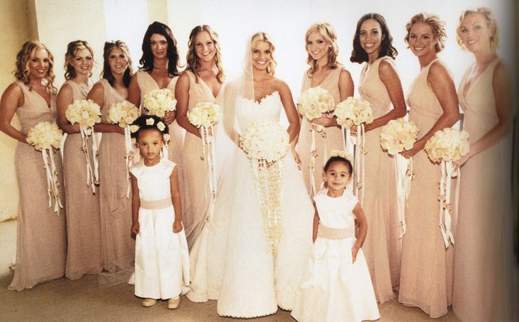 17 best images about jessica simpson and nick lachey on for Jessica simpson wedding dress