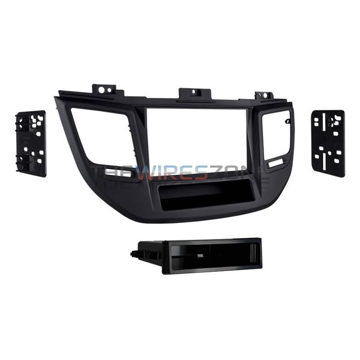 Metra 99-7369B Black Single DIN Car Stereo Dash Kit for 2016-up Hyundai Tucson #Metra