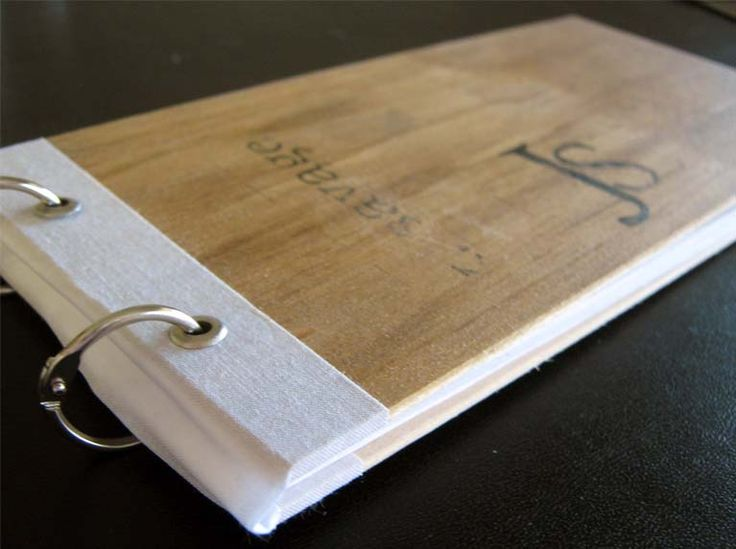 Binding rings provide a unique way of presenting a book or note cards #print #binding