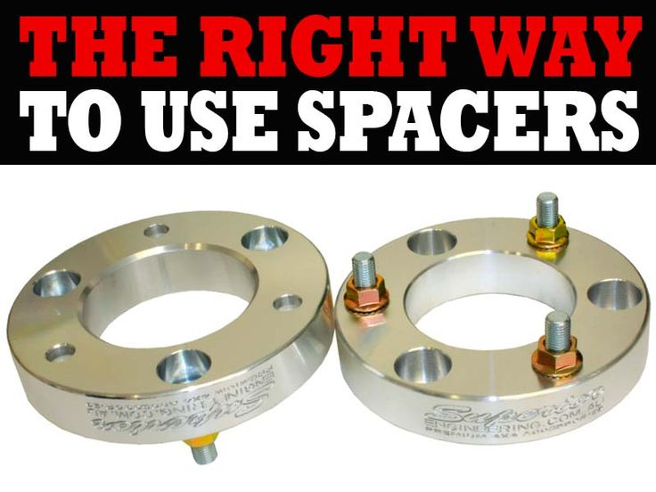 The Right Way To Use Spacers!  Find out when you should use coil or strut spacers and which ones you should be using.  Also, which material is better - Rubber v Metal v Polyurethane?  Find out all the details here: http://bit.ly/coil-strut-spacers  #CoilSpacers #StrutSpacers #Rubber #Metal #Polyurethane