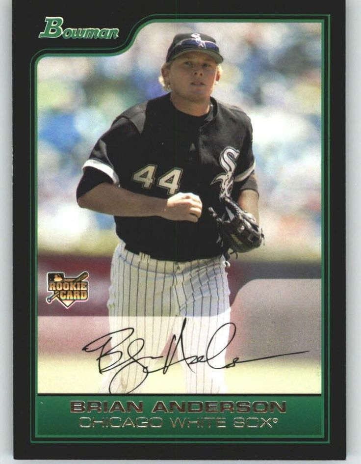 2006 Bowman Draft 7 Brian Anderson RC - Chicago White Sox (RC - Rookie Card) (Baseball Cards) >>> This is an Amazon Affiliate link. Check this awesome product by going to the link at the image.