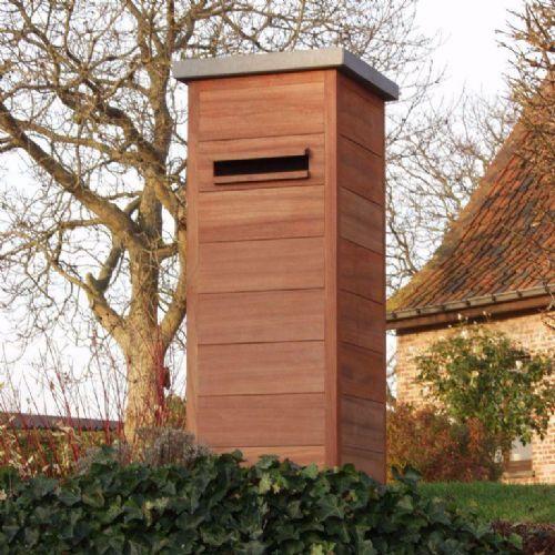 Houten brievenbus | Van Guyse - Van Grimberge