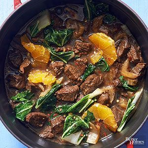 Orange Teriyaki Beef Stew  Transform takeout into a comforting citrusy stew that's both hearty and light.