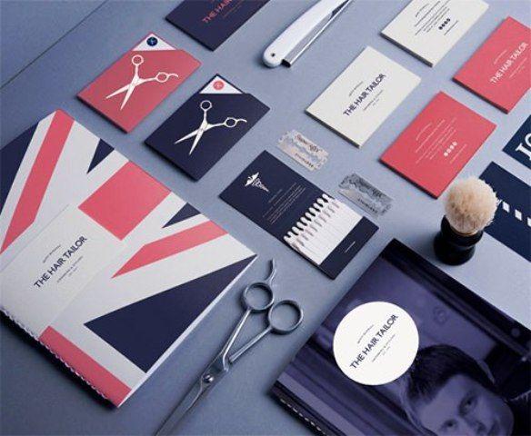 The Hair Tailor - Contoh Corporate Identity untuk Branding Bisnis