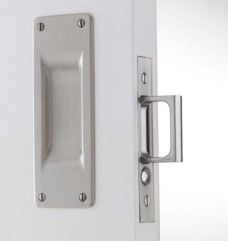 25 best ideas about pocket door lock on pinterest for Pocket door ideas