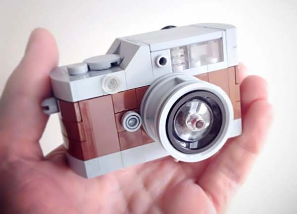No childhood was complete with out a Lego set. Now you can muster a remnant of your childhood with the Lego Mini Camera Custom. Designer Chris McVeigh is responsible for this very creative creation. It allows you to build your own camera from scratch using the beloved Lego building blocks. You can't take pictures with this camera but it is still a cool thing to have.