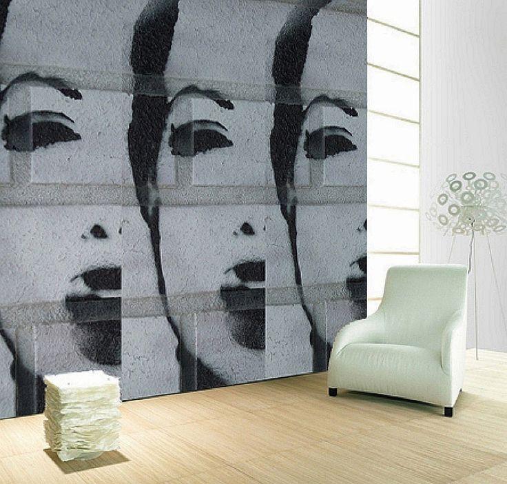 112 best Wallprint Factory GmbH images on Pinterest Html, Abs - moderne wandgestaltung mit tapeten