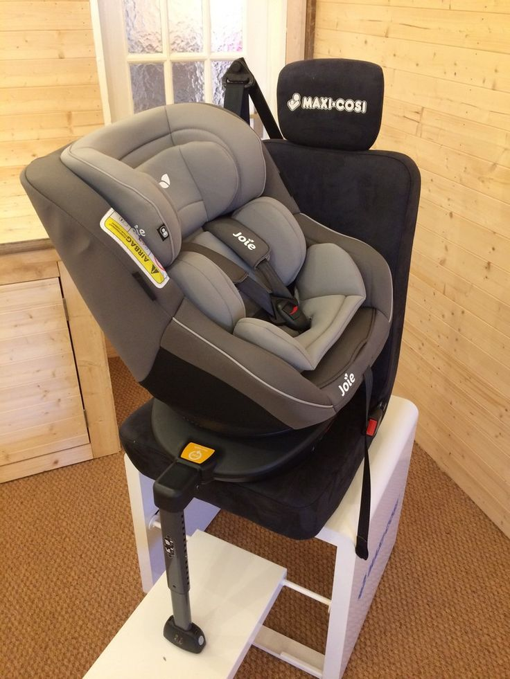 Suitable for use from birth to 18kg, approximately 0-4 years, the Joie Spin 360 0+/1 Car Seat is great for parents wanting a hassle-free time when putting their little one into the car. It spins a full 360 degrees, allowing the child inside to switch between rear and forward facing in the click on a button. Read our full review here ►https://buggypramreviews.co.uk/joie-spin-360-car-seat-review/