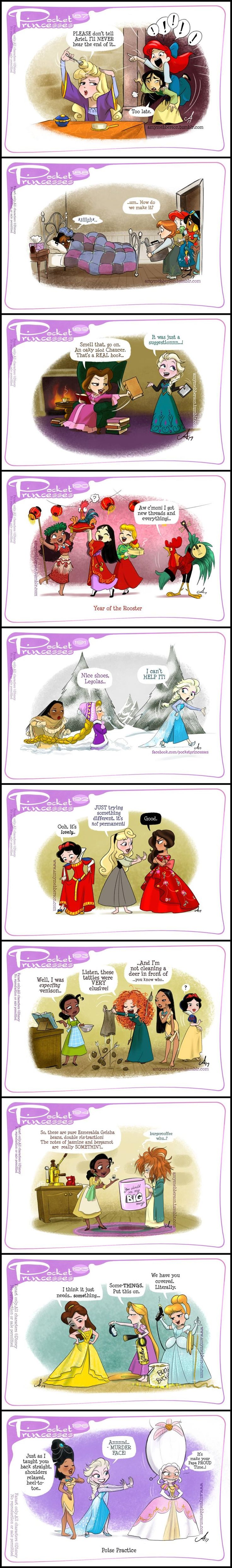 Pocket Princesses (Part 19) by Amy Mebberson