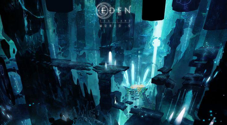 """ArtStation - """"EDEN"""" Game Project, Mitsukai-inki Natália RENAULT"""