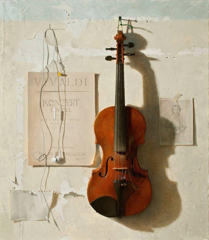 Jacob Collins - Violin | 1stdibs.com