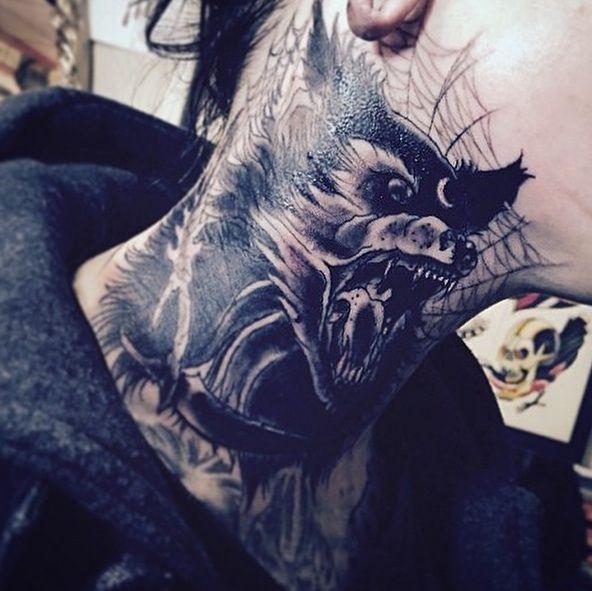 Lobo - Telaraña - Tattoo by OilBurner