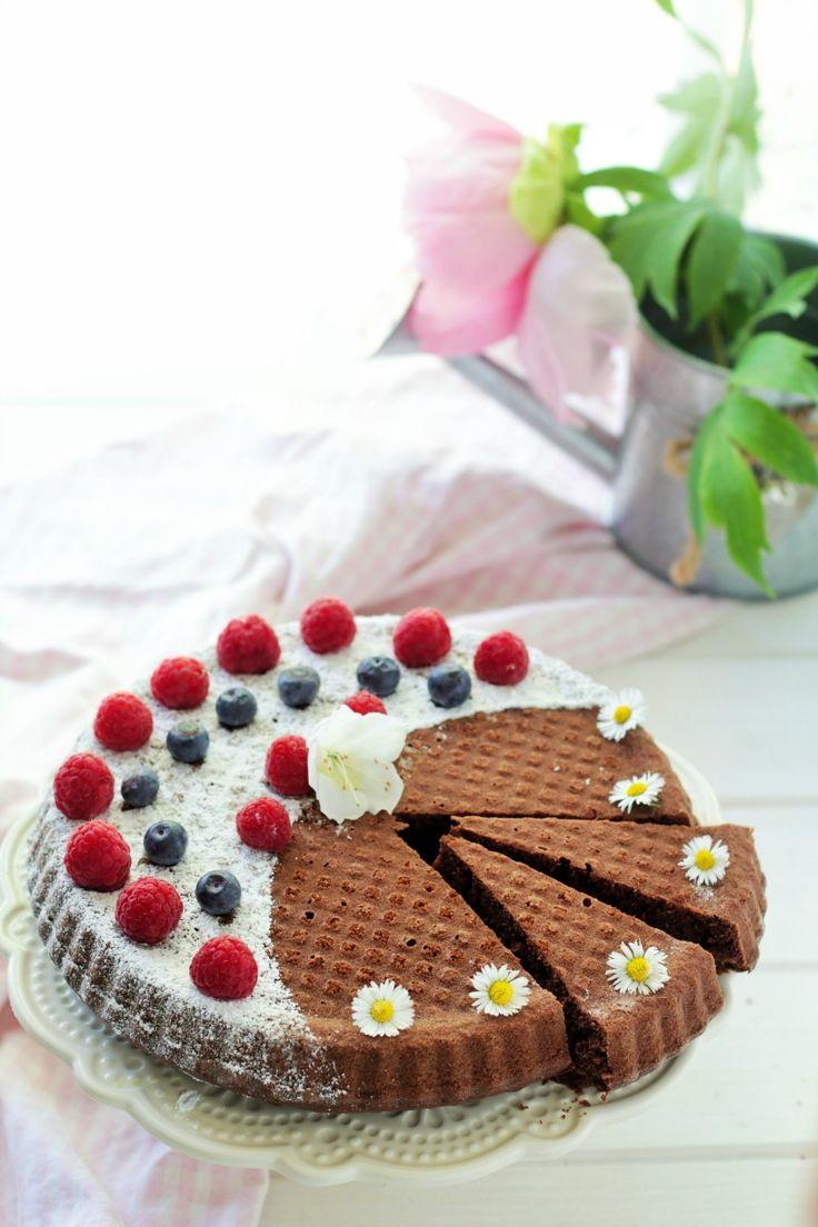 Crostata morbida al cacao
