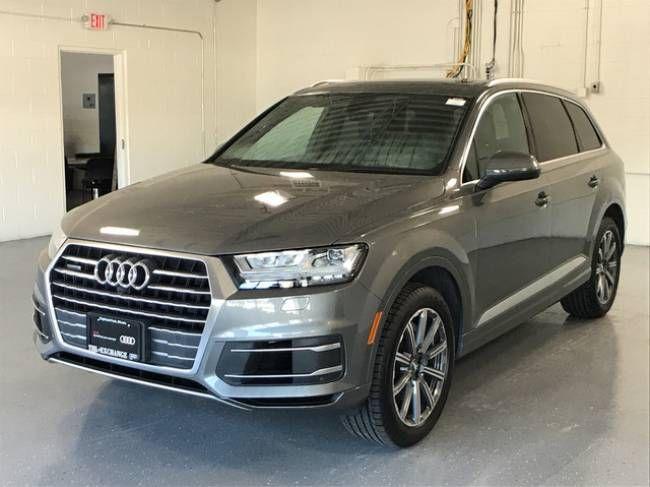 Certified 2017 Audi Q7 Premium Plus SUV for sale in Highland Park, Illinois