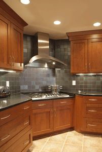 CWP Cabinetry Corner Range Kitchen Cabinets