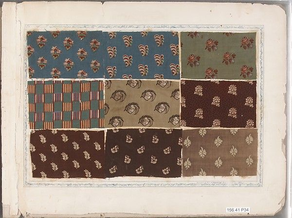 557 best 18th.C. Textile Samples Patterns & Designs 1700-1799 ...