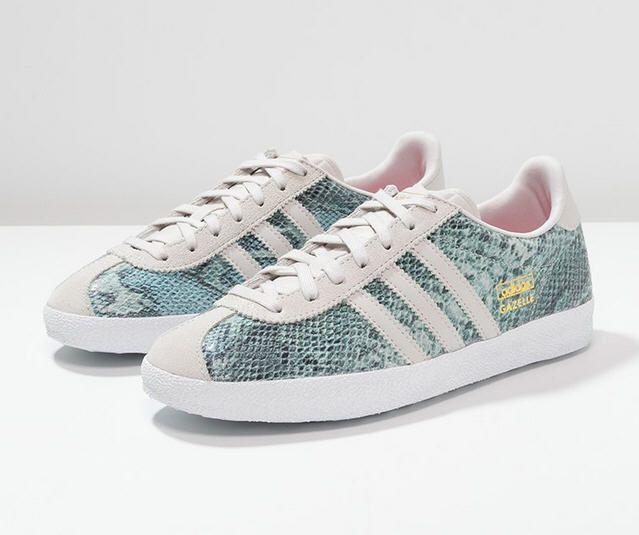 Gazelle Adidas Grise Pailletée
