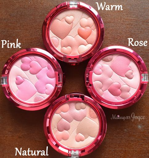 Physicians Formula Happy Booster Blushes in Warm, Rose, Natural and Pink