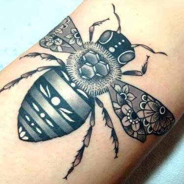 Image result for bee tattoo meaning