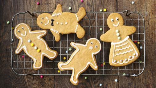 BBC Food - Recipes - Gingerbread men
