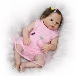 NPK bebe Reborn 57cm Full corps en silicone renaître Baby Doll - Achat / Vente poupée - Cdiscount