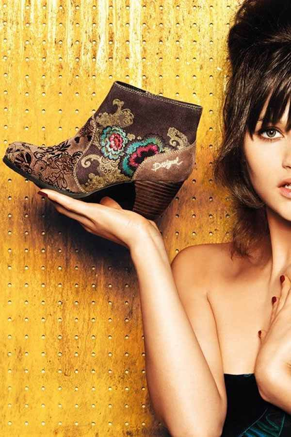 Fashionable women's footwear and accessories Desigual fall-winter 2014fashion blog