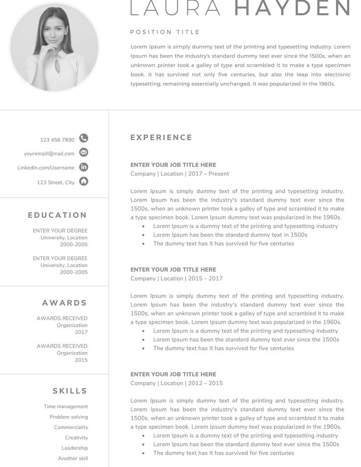 Pin by Sheila Boehm on Graphic Designer Resume Resume