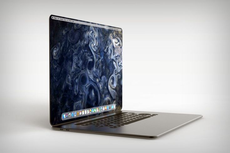 New Vision of a MacBook X Designer Ludovico Campana thinks that the ...