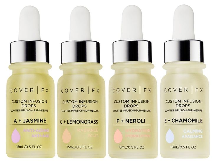Skincare Review, Ingredients: Cover FX Custom Infusion Drops, Essential Oils