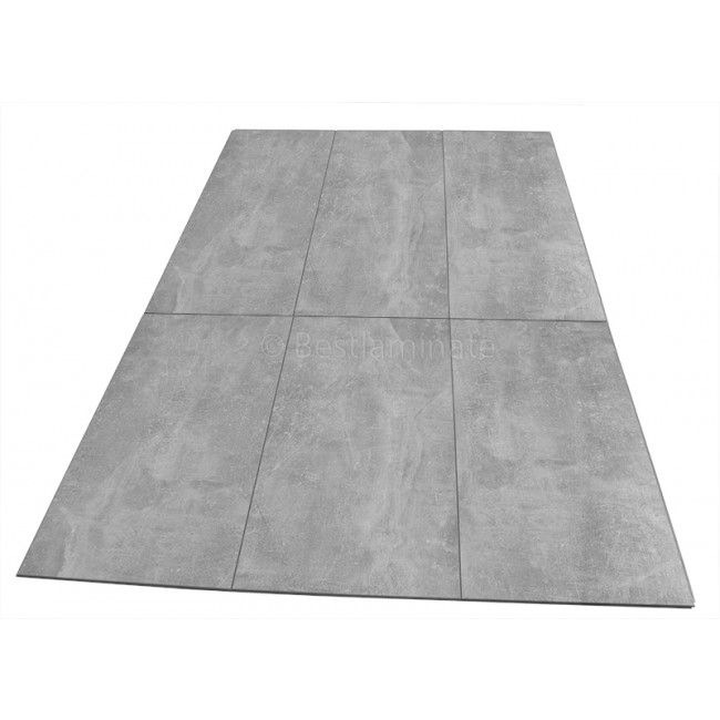 Classen Visiogrande Screed Light 8mm Concrete Laminate Flooring SAMPLE