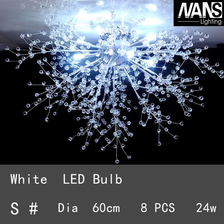 Cheap ceiling lights, Buy Quality light for living room directly from China led ceiling light Suppliers: Modern White LED Ceiling Lights For Living Room luminarias para sala plafon led Crystal Ceiling Lamp Fixtures For Bedroom
