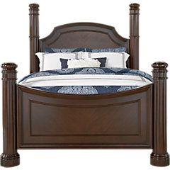 Dumont Cherry 5 Pc Queen Low Poster Bedroom . $1,499.99.  Find affordable Bedroom Sets for your home that will complement the rest of your furniture.