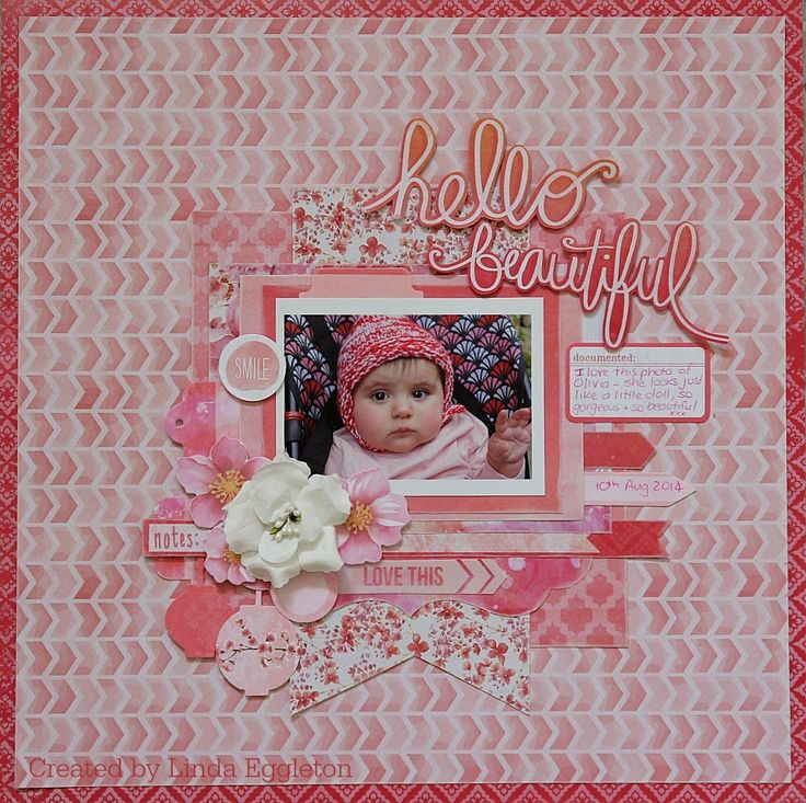 All About Scrapbooks - Kaisercraft Cherry Blossom by Linda Eggleton