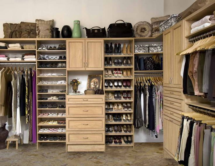 Wonderful Custom Walk In Closets With Wooden Drawers And Small Shelves  Decorations Also Fantastic Hanger Valet Rods For Your Inspired