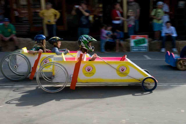 Bangalow Billy Cart Derby  Sunday 19th May, 2013
