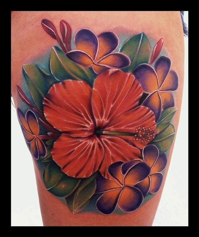 Plumeria Flower Tattoo: 26 Best Images About Stipple Tattooes On Pinterest