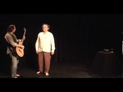 Improvizované představení Malá Vizita - 14. 3. 2011 - Jaroslav Dušek a Pjér la Šé'z - YouTube