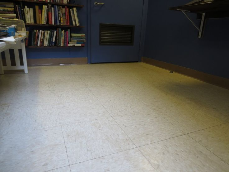 I covered this old linoleum floor vinyl tiles for only 70 for Cheap lino floor covering