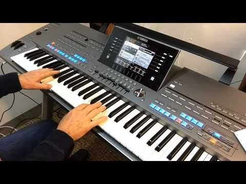 Yamaha Tyros 5 Sounds - YouTube